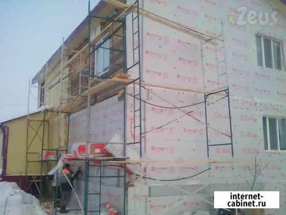 Фасадные работы, дачное строительство Сургут