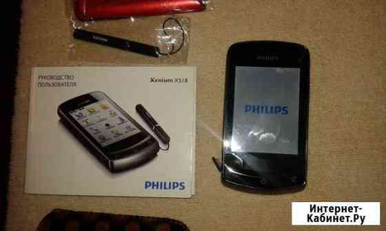 Philips xenium x 518 Москва