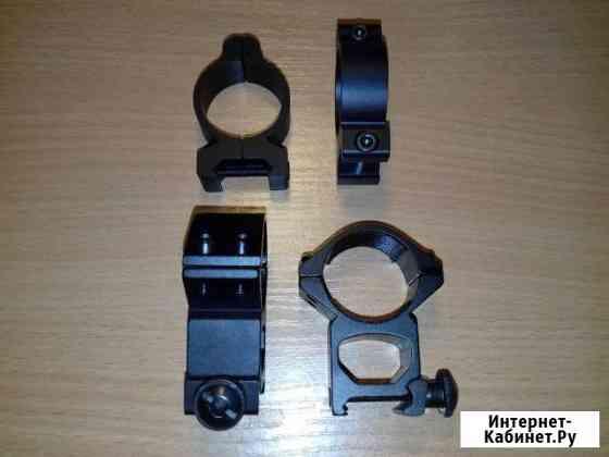 Кольца для оптики на вивер планку Дмитров