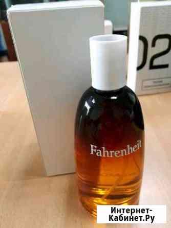 Тестер Christian Dior Fahrenheit,муж Челябинск