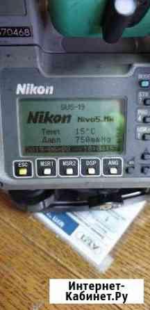Продается Тахеометр Nikon Nivo 5.MW 2011г Надым