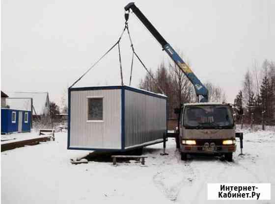 Блок контейнер зимняя вагон бытовка Абакан