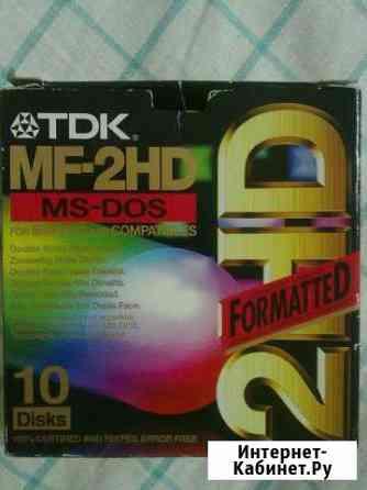 Дискета MF-2HD TDK Чернушка