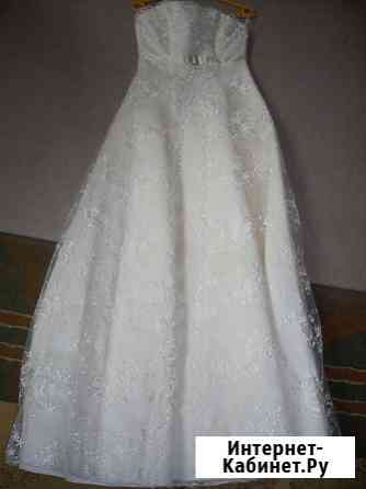 Изящное свадебное платье Кинешма