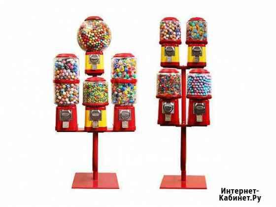 Автоматы для бахил, игрушек, наклеек, конфет Братск