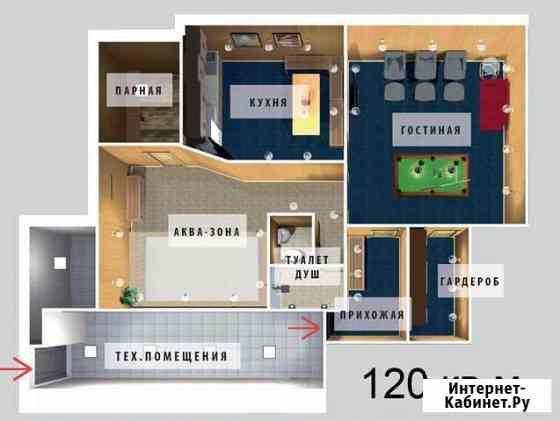 Сауна с помещением, 120 кв.м Петропавловск-Камчатский
