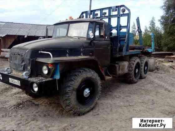 Лесовоз Урал 4320 1991г.в. с роспуском Каргасок
