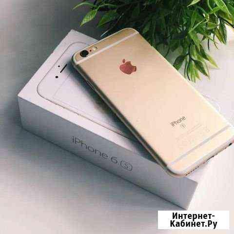 iPhone 6S 64Gb Gold, состояние нового, комплект Горно-Алтайск