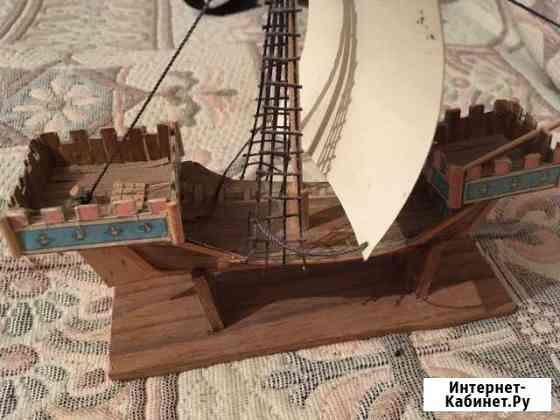 Модель корабля Псыж