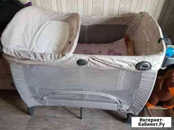 Манеж-кровать Кызыл