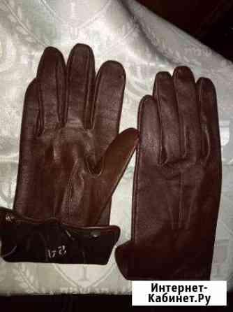 Перчатки кожаные генеральские (70-е годы) новые Москва
