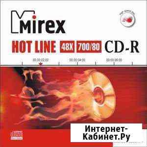 Диск CD-R 700Mb Mirex Hotline 48 speed (slim) Ростов-на-Дону
