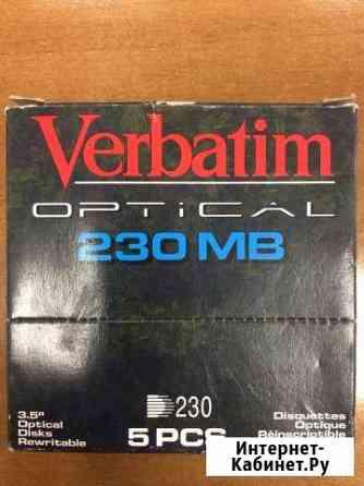 Verbatim optical 230mb магнитооптика 3,5 Выборг