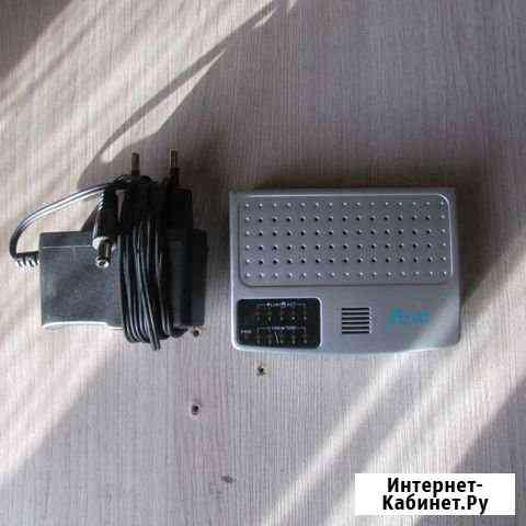 Коммутатор Acorp HU5DP 5 x RJ45 Кызыл