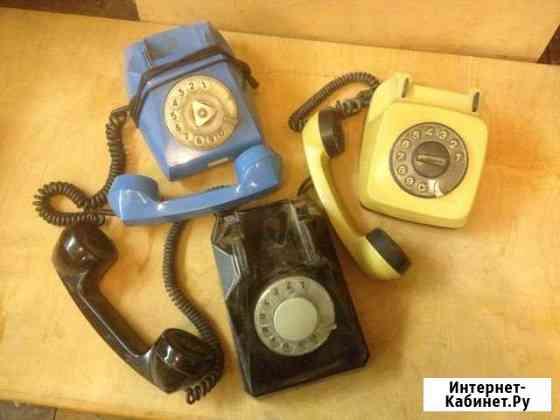Дисковые телефоны времён СССР Москва