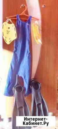 Спортивный купалтный костюм для плавания ласты лап Биробиджан