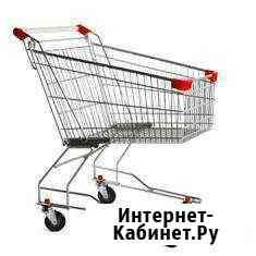 Тележка покупательская STA100 100 литров Грозный