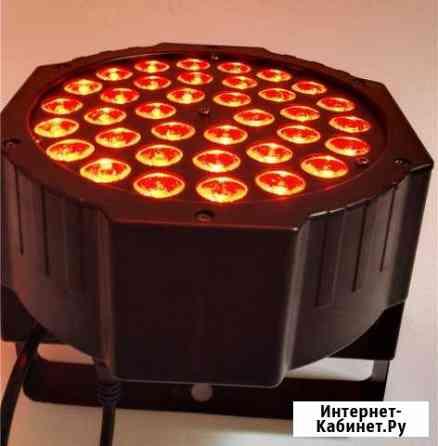 Светодиодный прожектор, RGB PAR 36 led *3 watt Владивосток