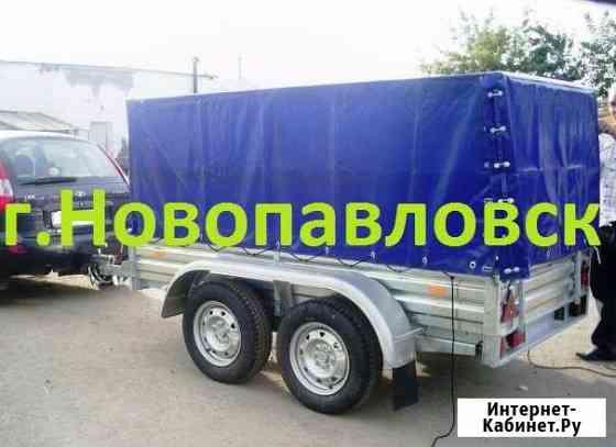 Двухосный прицеп (рессорный) 2.5х1.3 м Новопавловск