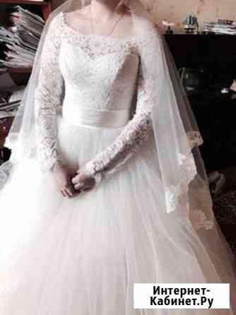 Платье свадебное, фата, нижняя юбка Москва
