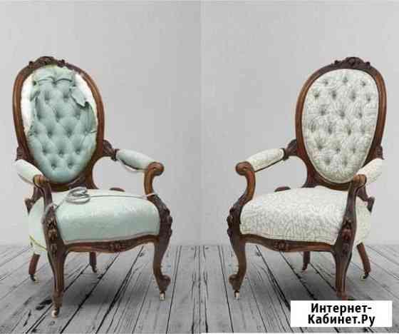 Перетяжка обивка дивана кровати мебели Балашиха