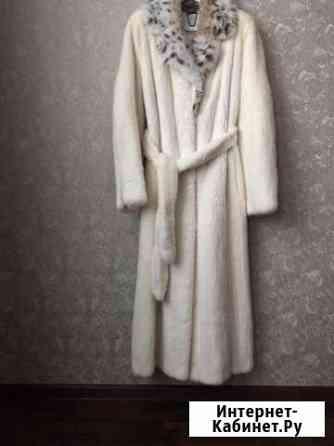Шуба норковая Размер 40 Греция все вопросы по тел Карабулак