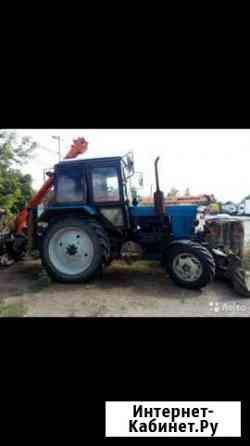 Тракториста на ямобур Элиста