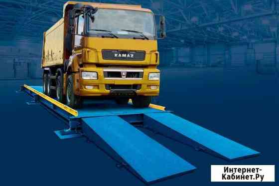 Весы для грузовиков 15-100 тонн Тамбов