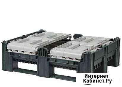 Контейнер складной dflc 1200x1000x740 мм сплошной Владивосток