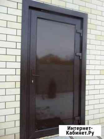 Дверь пластиковая теплая Горно-Алтайск