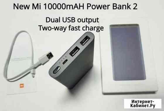 Xiaomi MI Power Bank 2s 10000 (PLM09ZM) Барнаул