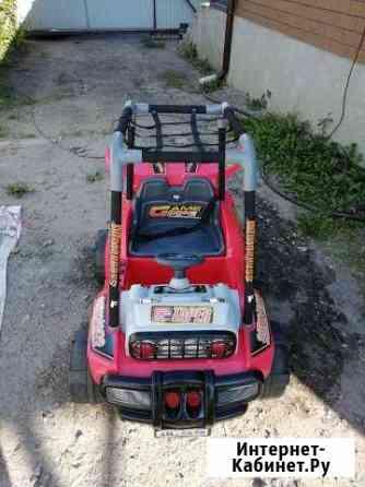 Детский электромобиль джип Бессоновка