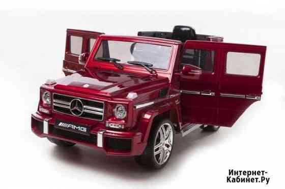 Электромобиль детский Mercedes Benz G63 AMG Red Уфа
