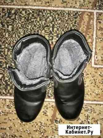 Зимние детские ботинки 34 размер Кызыл