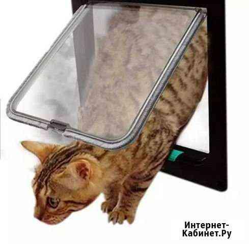 Дверца для кошек и мелких собак Анадырь
