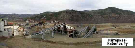 Дробильно-сортировочный комплекс 60 тн/час Чита