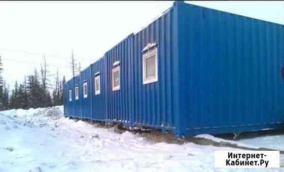Модульные здания северного исполнения Надым
