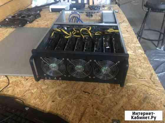 Майнинг ферма 8 видеокарт Radeon RX 570 4gb Брянск