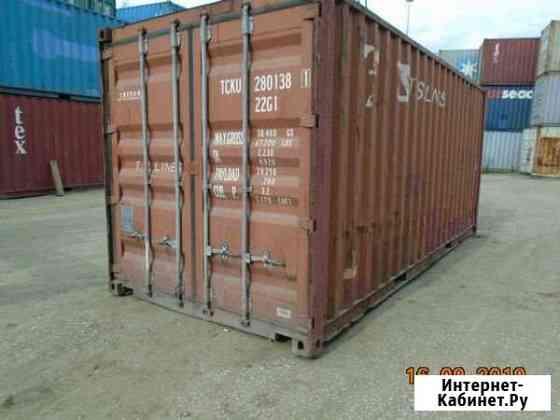 Контейнер 20 футов tcku2801381 Улан-Удэ
