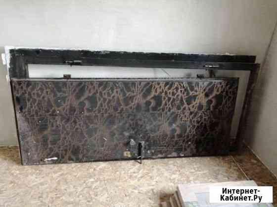 Дверь железная с коробкой Партизанск