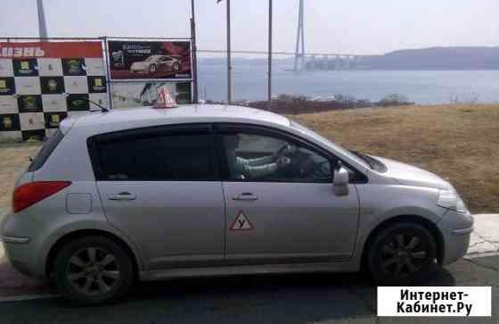 Вождение по городу с инструктором, автомат Владивосток