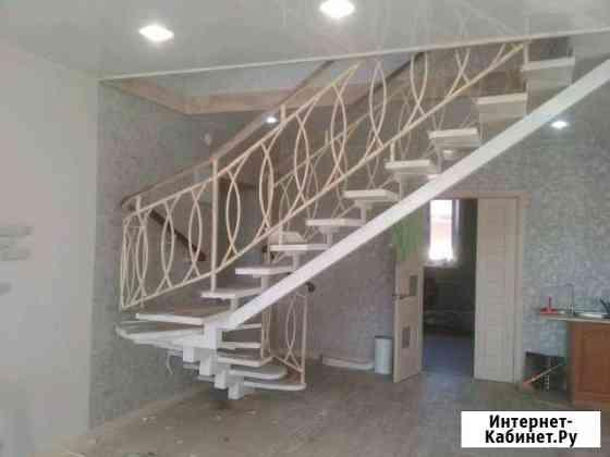 Лестница на металлокаркасе Улан-Удэ
