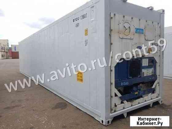 Рефконтейнер 40 ф 2005 год из Красноярска №1286827 Абакан