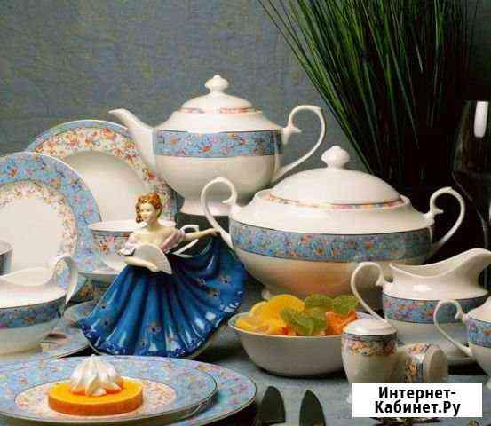 Сервиз с чайником для кухни Дальнегорск