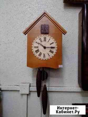 Часы с кукушкой из СССР рабочие Биробиджан