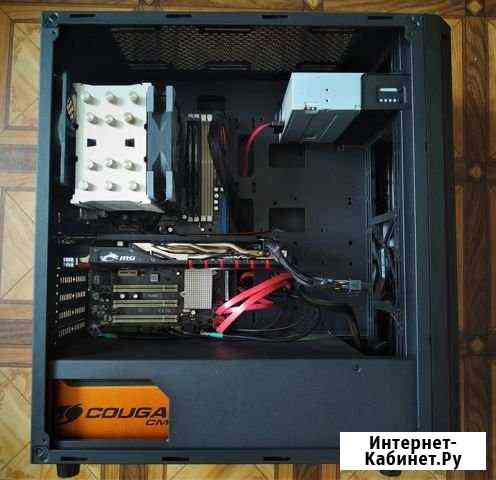 Продам Пк и монитор на AMD 6ядер Братск