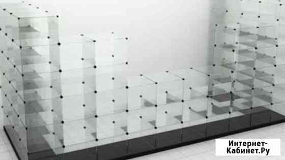 Стеклянная витрина, сборная Ершов