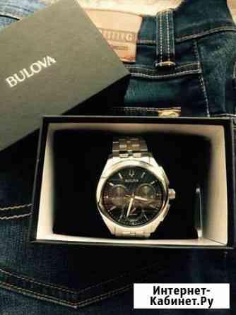 Часы Bulova Curv Chronograph Кызыл