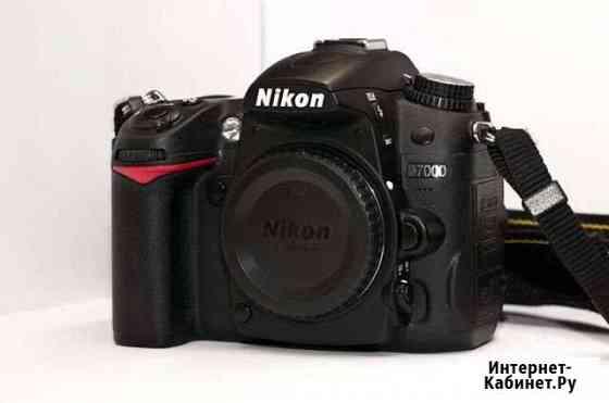 Nikon d7000 body + флешка и сумка Владивосток