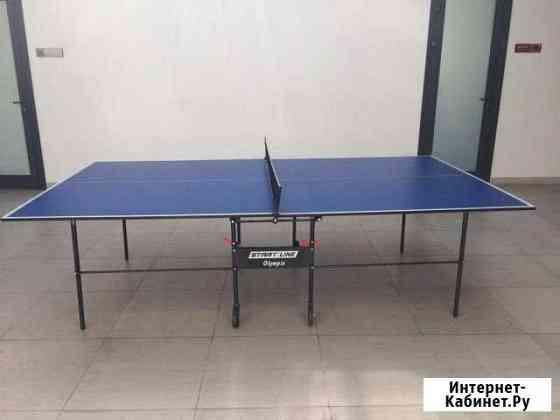 Стол для настольного тенниса Olympic с сеткой Грозный
